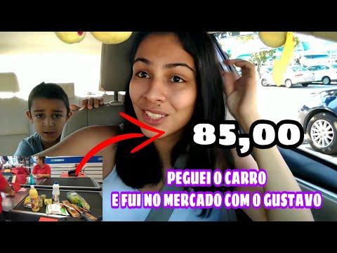 PEGUEI O CARRO E FUI FAZER COMPRAS NO MERCADO 85,00