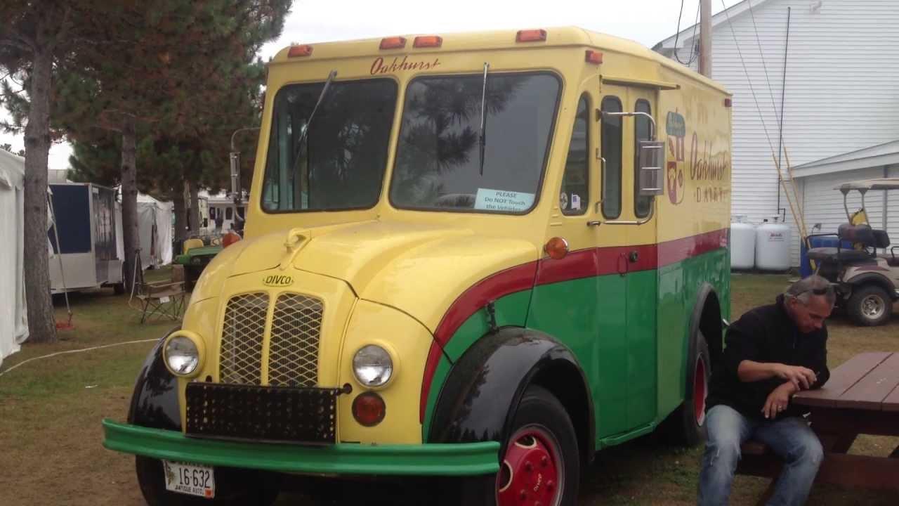 Antique Divco Oakhurst Milk Truck