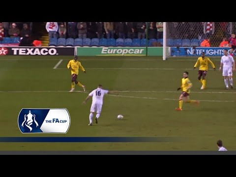 Bradley Johnson scores a screamer   From The Archive