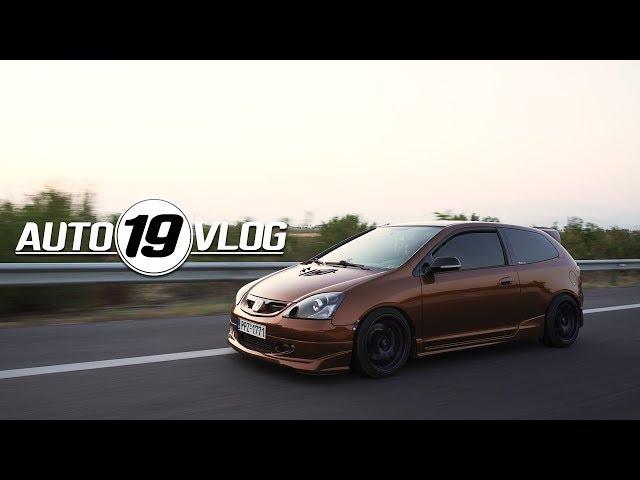 Πατήματα 9αρες και ξύλο με Honda TypeR turbo || Autovlog #19