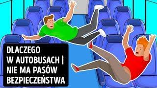 Dlaczego w autobusach nie ma pasów bezpieczeństwa