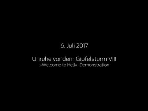 jW vom G20 in Hamburg: 6. Juli: »Welcome to Hell«-Demonstration