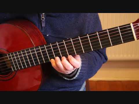 lagrima by francisco tarrega guitar tutorial part 2 youtube. Black Bedroom Furniture Sets. Home Design Ideas