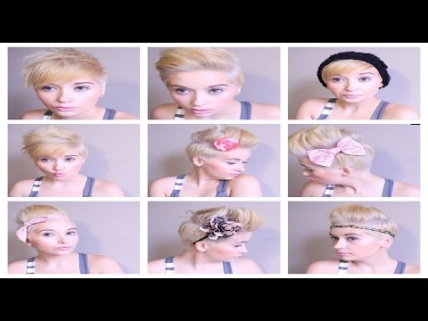 HAIR Tutorial: How To ROCK 6 Different Pixie Styles