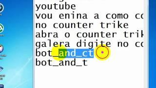 como coloca bots no counter strike source