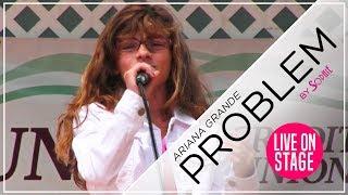 Ariana Grande - Problem   Live (Cover by Sophie Pecora)