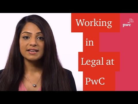 What's it like working in Legal at PwC? Anita can tell you