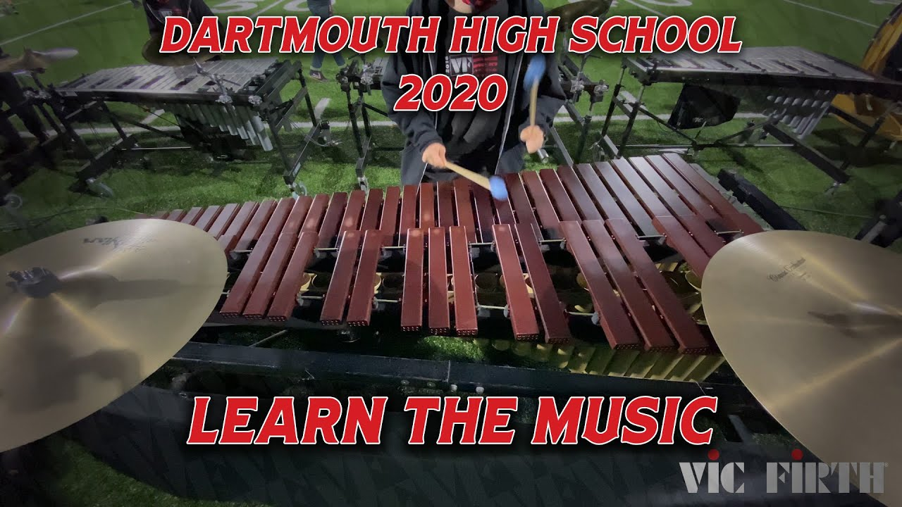 "LEARN THE MUSIC | Dartmouth High School | ""Behind The Mask"" Marimba Intro"