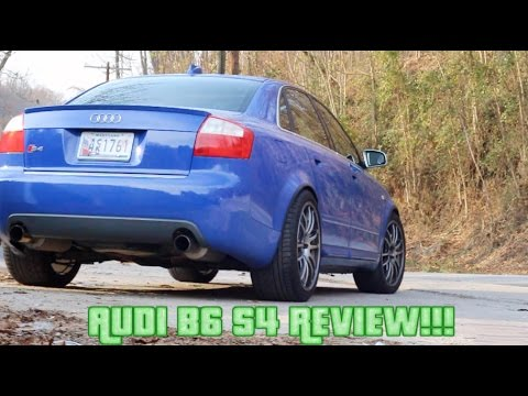 Audi B S Review AWD V Awesomeness YouTube - 2004 audi s4 review