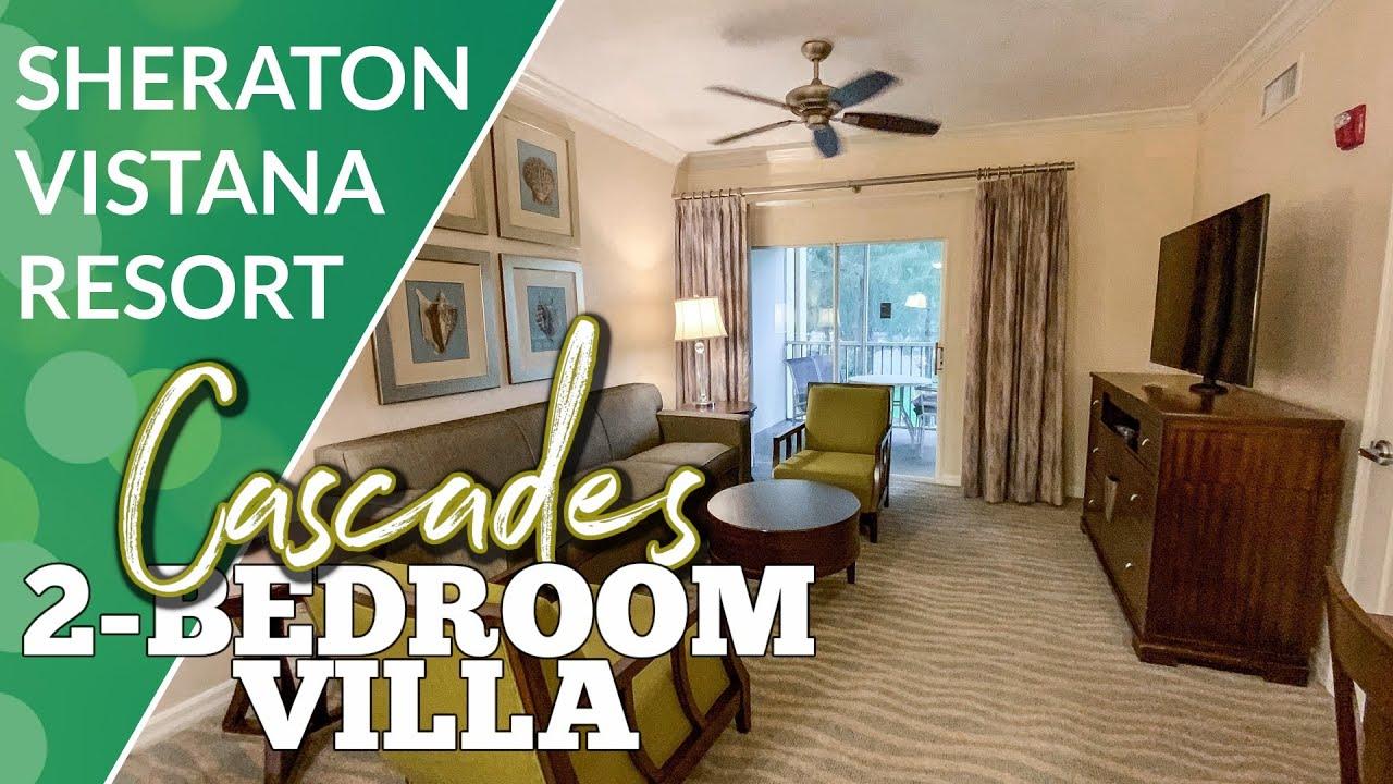Check Out The 2 Bedroom Villa At Sheraton Vistana Resort Youtube