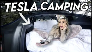 The TRUTH About Camping In A Tesla