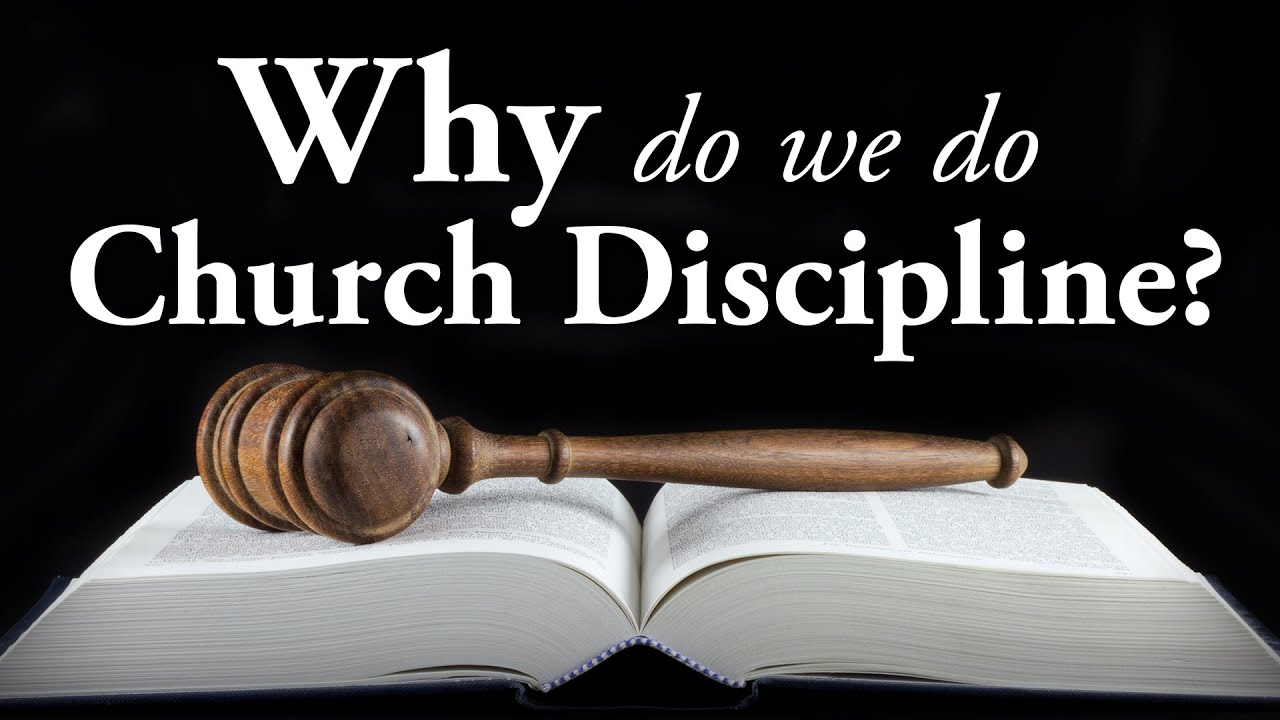 church discipline as an exercise on Theology of church discipline 1 the exercise of discipline is made necessary by the need more fully to reconcile christian individuals or groups to god and.