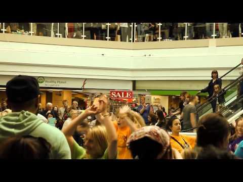 Flash Mob At The Fishergate Centre, Preston