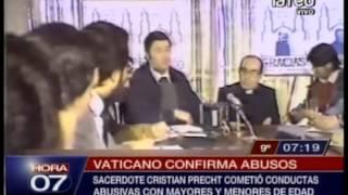 Vaticano confirma acusaciones de abuso contra sacerdote Cristian Precht