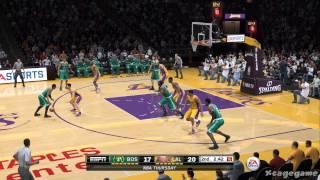 NBA Live 15 - Boston Celtics vs Los Angeles Lakers - FULL GAME Gameplay [ HD ]
