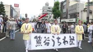 2012年7月21日 熊谷うちわ祭 第2日目 巡行祭の様子です。 この年の年番...