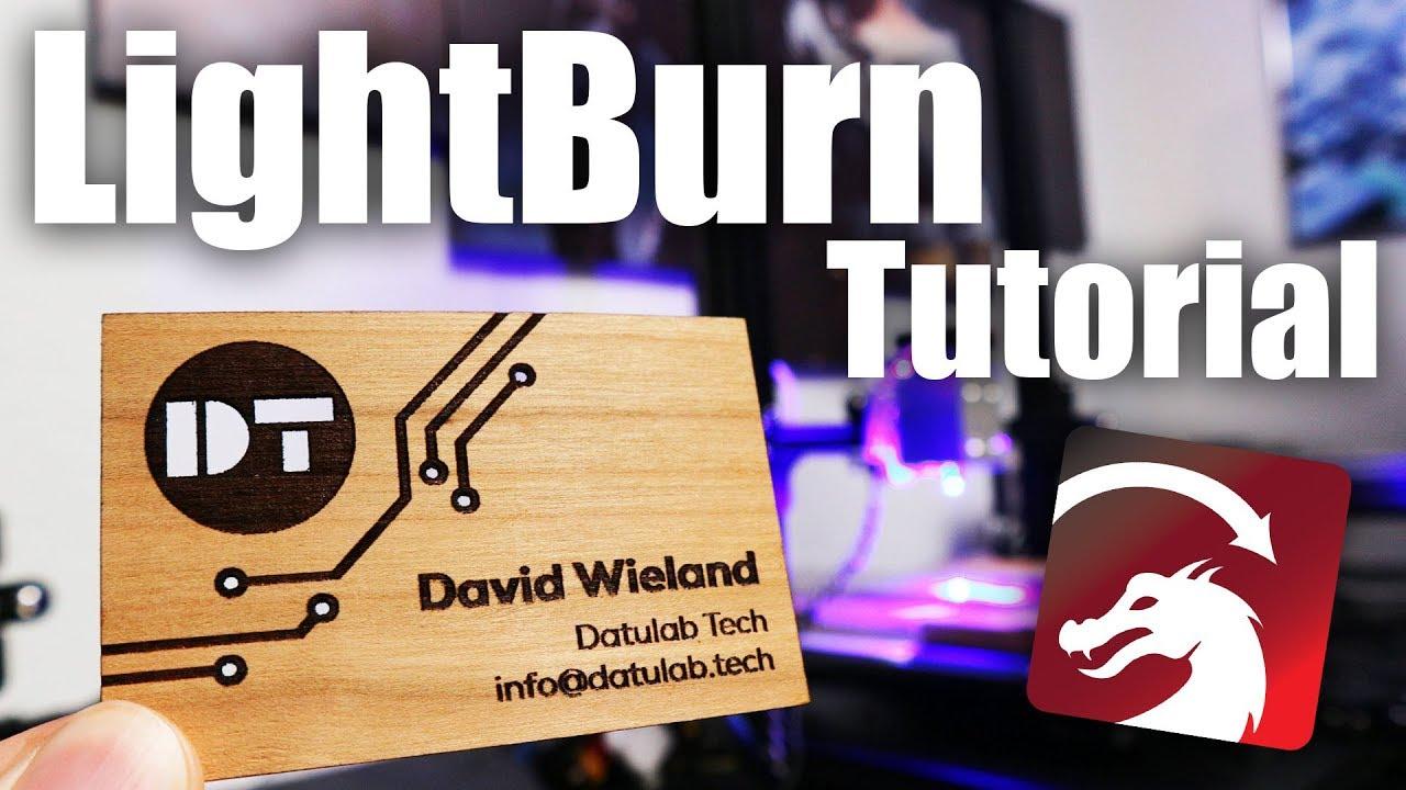 My Laser Cutting Workflow - LightBurn Tutorial