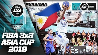Gilas 3x3 Women outclass Samoa in a total blowout win   Full Game   FIBA 3x3 Asia Cup 2019