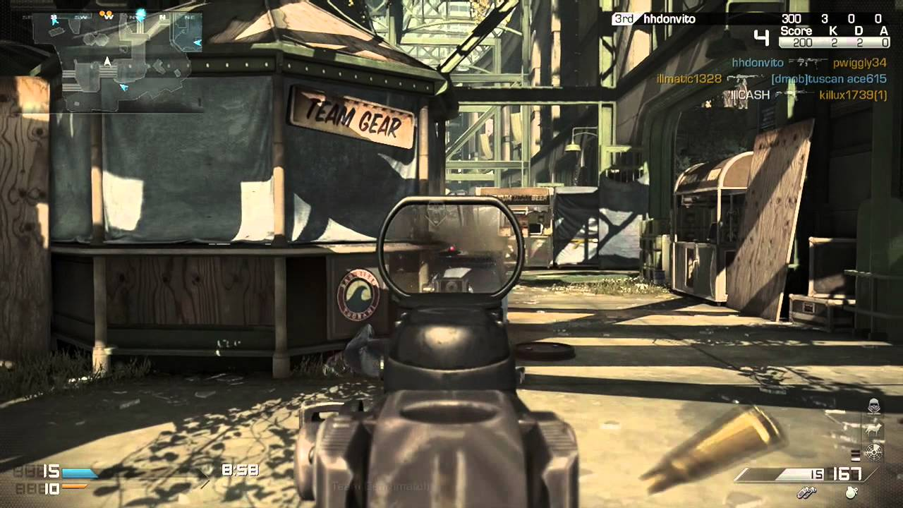 XBOX ONE Gameplay - Call Of Duty Ghosts Multiplayer - Next ...