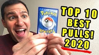 *IT'S HERE!* My Top 10 BEST Pokemon Cards Pulls (2020)