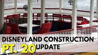 First Look at new Lamplight Lounge seating - Pixar Pier construction update | 06/09/18 pt 19