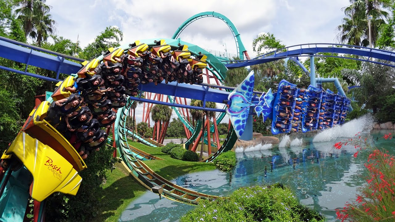 Seaworld orlando busch gardens tampa youtube How far is busch gardens from orlando