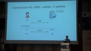 OPAQUE: An Asymmetric PAKE Protocol Secure Against Pre-computation Attacks thumbnail