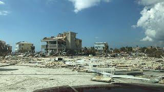 Hurricane Michael Damage Mexico Beach FL.