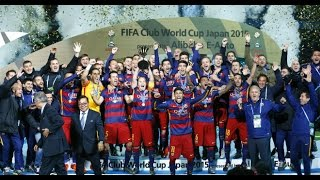Final del Mundial de Clubes 2015 Barcelona 3 River 0 (Fox Sprts) HD