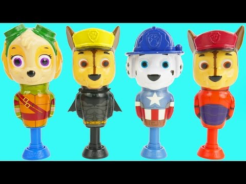 Thumbnail: Superhero Mickey Mouse Clubhouse Finger Family Nursery Rhymes Microwave Pez Toys Foam Surprise Eggs