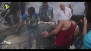 80 شهيد في أعنف حملة قصف روسي على حلب و ريفها