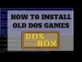 How to play DOS games in Windows 10 - DosBox Tutorial