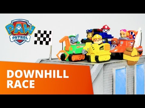 PAW Patrol | Downhill Race | Toy Episode