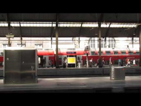 德国, 亚琛 aachen train station - Dans la gare de Aachen Hbf (Aix-la-chapelle)