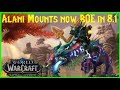 Alani Mount are now BOE in WOW for 8.1