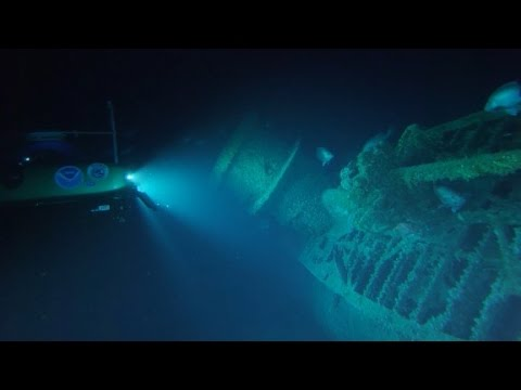 New video of WWII shipwrecks off North Carolina coast