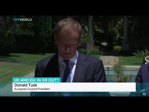 European Council President Donald Tusk asking UK to stay in EU