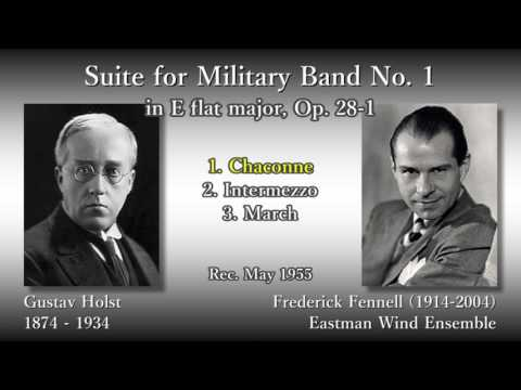 Holst: Suite for Military Band No. 1, Fennell & EastmanWE (1955) ホルスト 組曲第1番 フェネル