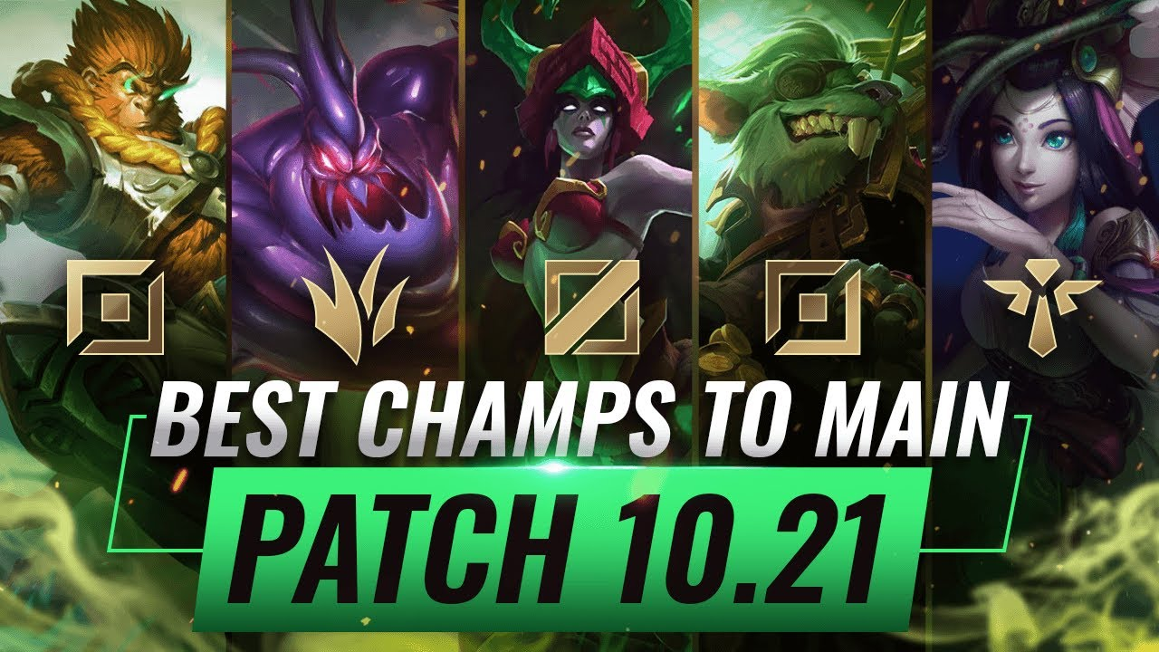 3 Best Champions To Main For Every Role In Patch 10 21 League Of Legends Season 10 Youtube
