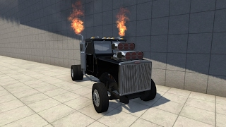 BeamNG Drive - The T- SERIES DRAG GHOST RIDER!