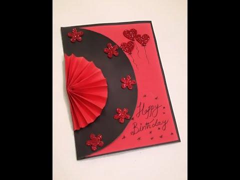 Beautiful Handmade birthday card // best birthday card #crafts land crafts handmade cards