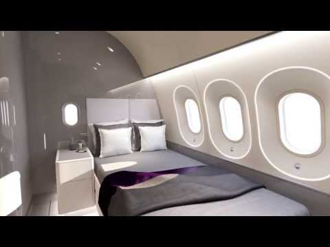 Animation of 787 VIP - Dreamliner - Timeless to Visionary