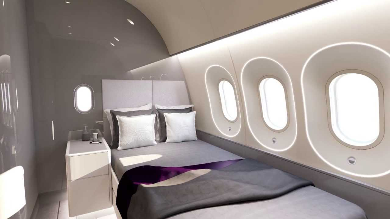Animation Of 787 Vip Dreamliner Timeless To Visionary