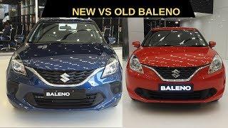 New 2019 Baleno Facelift vs Old Baleno Comparison