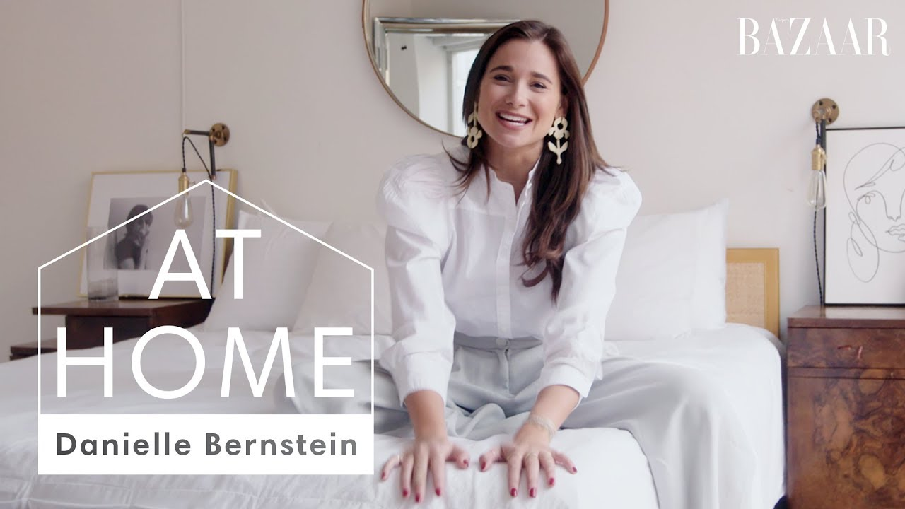 WeWoreWhat's Danielle Bernstein's Luxe NYC Apartment Tour | At Home With | Harper's BAZAAR