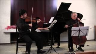 Mozart: Piano Trio in G major K.496 1of 3