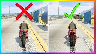 GTA 5 NEW DLC CONTENT BUYER BEWARE! - SPEED TEST & WARNINGS BEFORE BUYING ALIEN VORTEX BIKE!