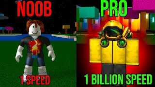 NOOB vs PRO SPEED RUN IN ROBLOX!! (Rage!)