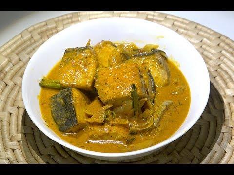 Sri Lankan Fish Curry - Fish Curry - Fish Coconut Curry - SrI Lankan Recipes - Easy Fish Curry
