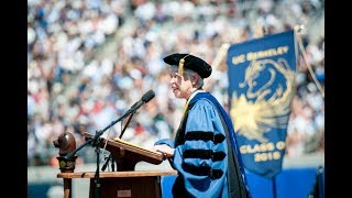 Chancellor Christ delivers 2018 Spring Commencement Speech